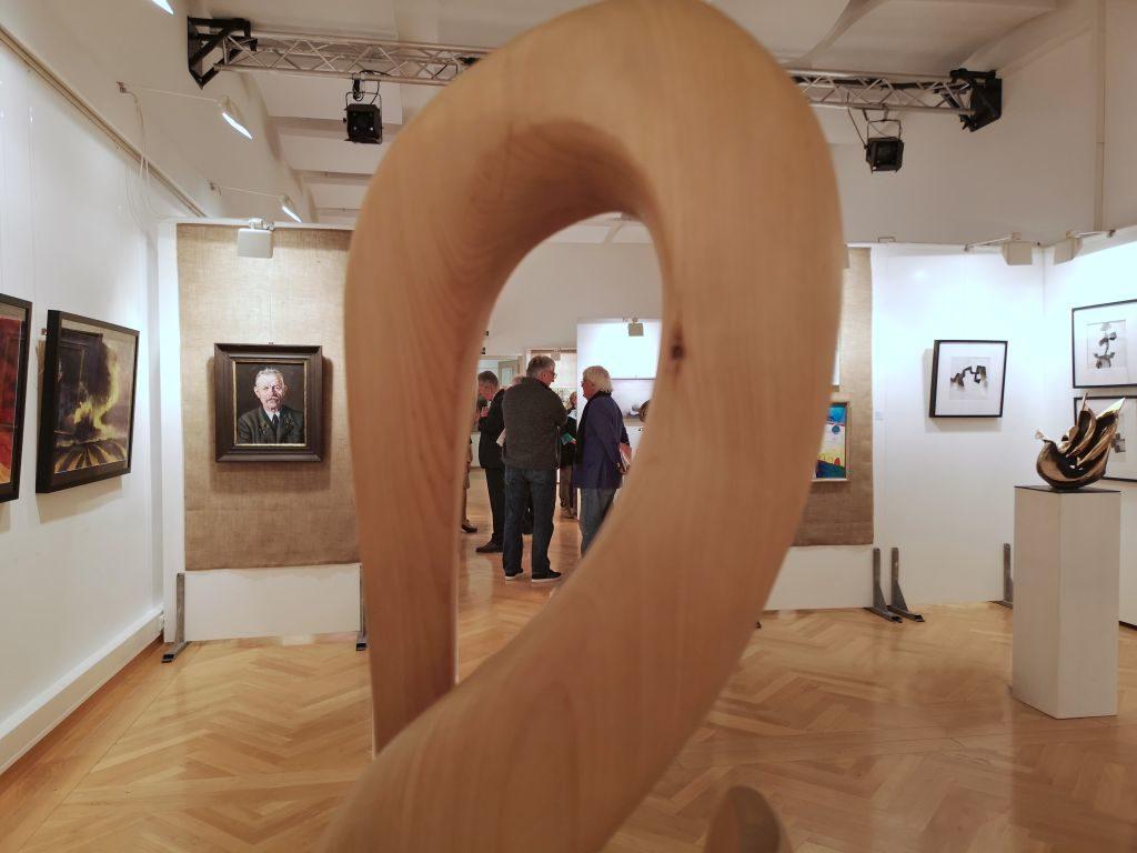 Blick in die 70. Tegernseer Kunstausstellung