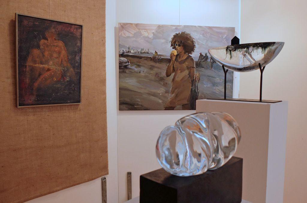 70 Jahre Tegernseer Kunstausstellung Ursula-Maren Fitz, Ekaterina Zacharowa Eduard Streibl