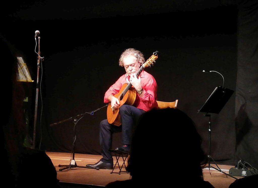 Luis Borda oder die Liebe zur Gitarre.