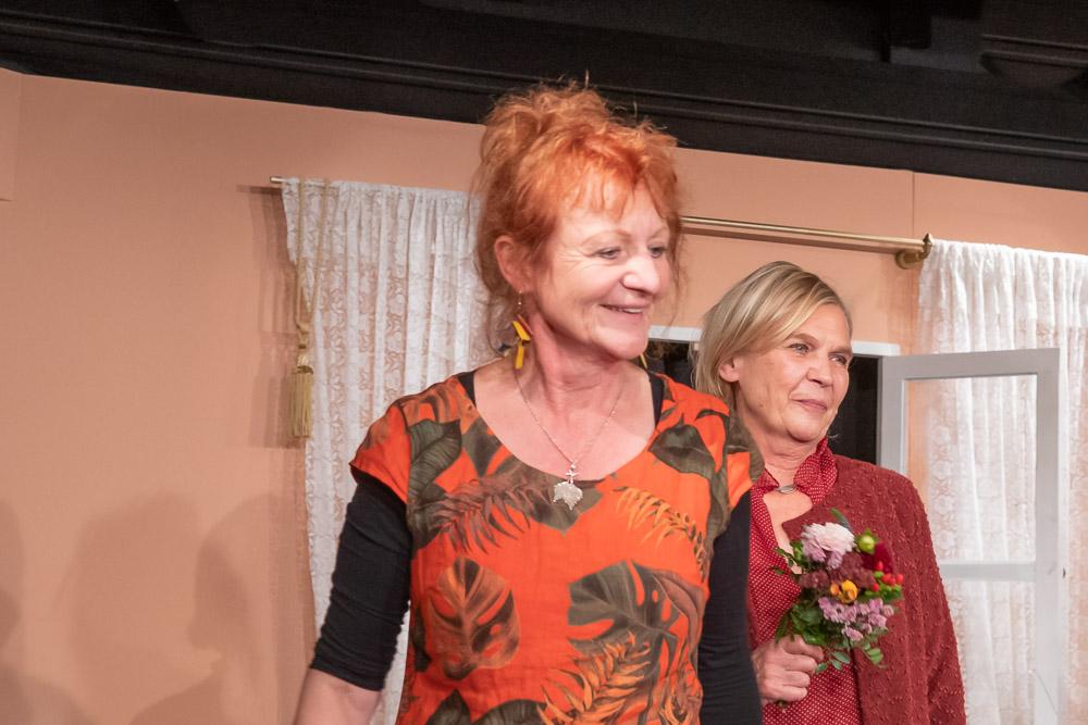 Agnes Kraus und Mechthild Pohl