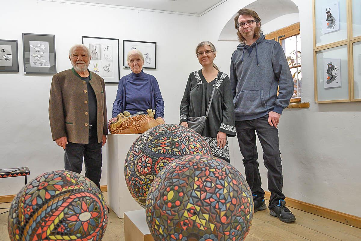 Milazzo Art - Künstlerfamilie Milazzo: Tano, Waltraud, Pina, Riccardo