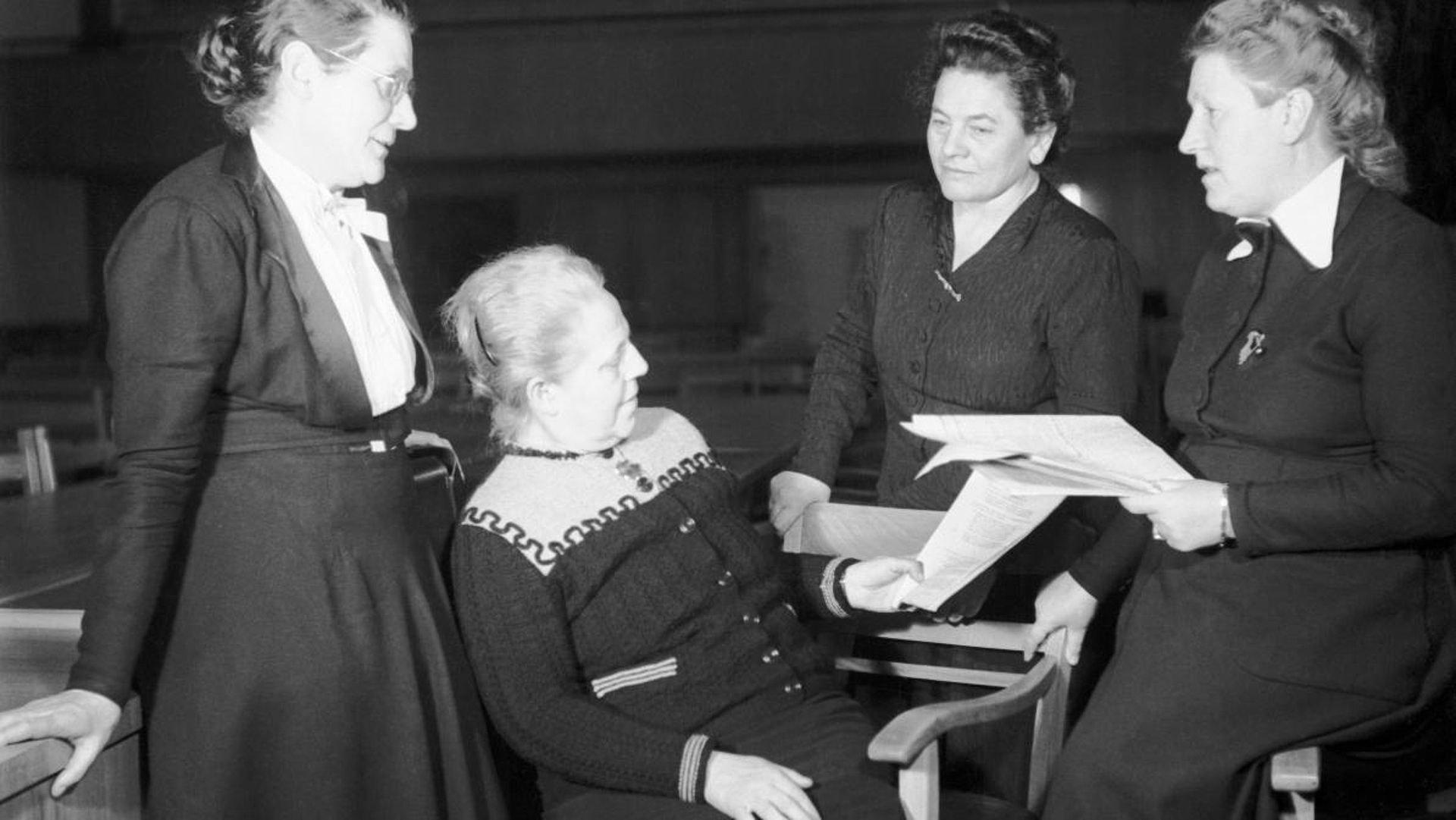 Die Mütter des Grundgesetzes 1949