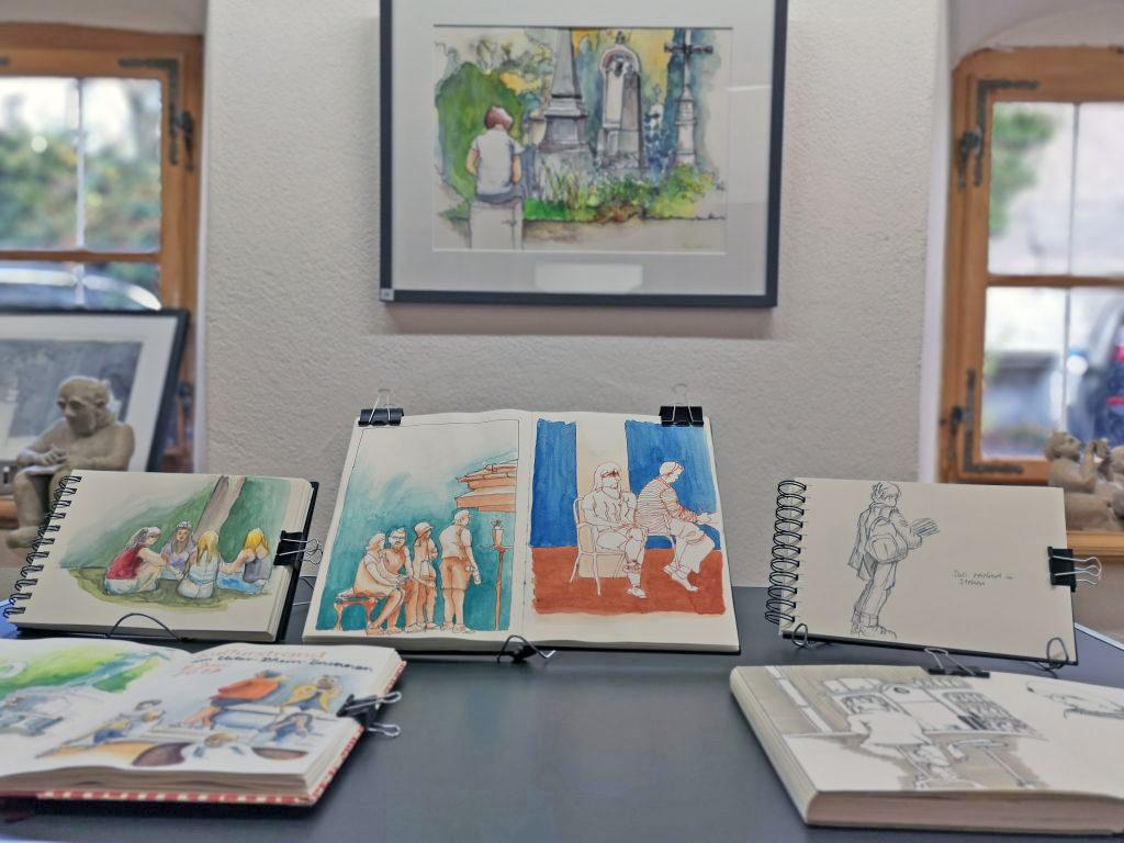 Skizzenbücher von Pina Milazzo