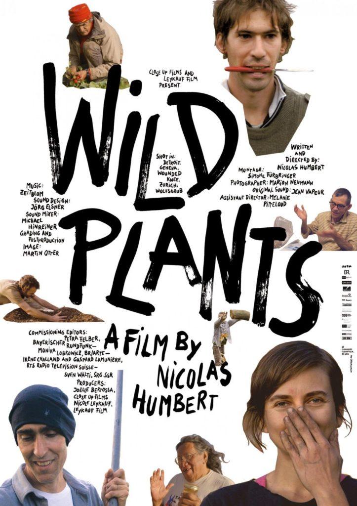 Filmplakat Wild plants von regisseur Nicolas Humbert
