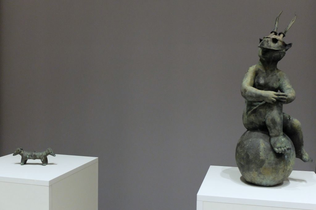 Bronzefiguren des Künstlers Stefan von Reiswitz