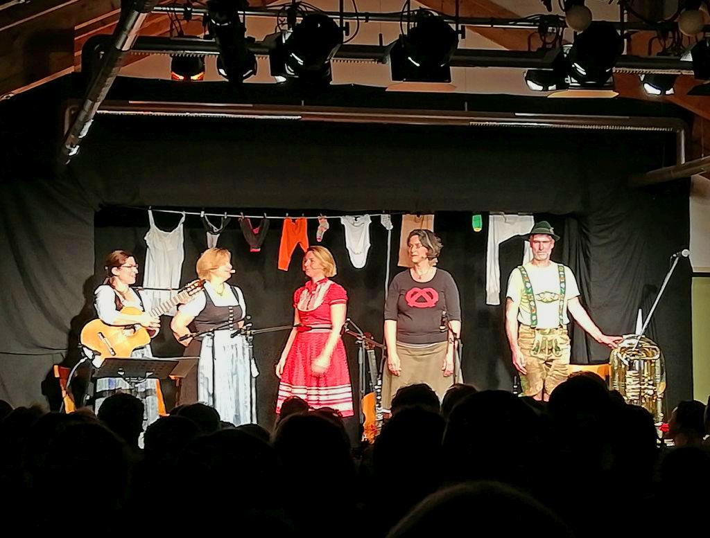 Neurosenheimer und Zechfrei gemeinsam auf der Bühne