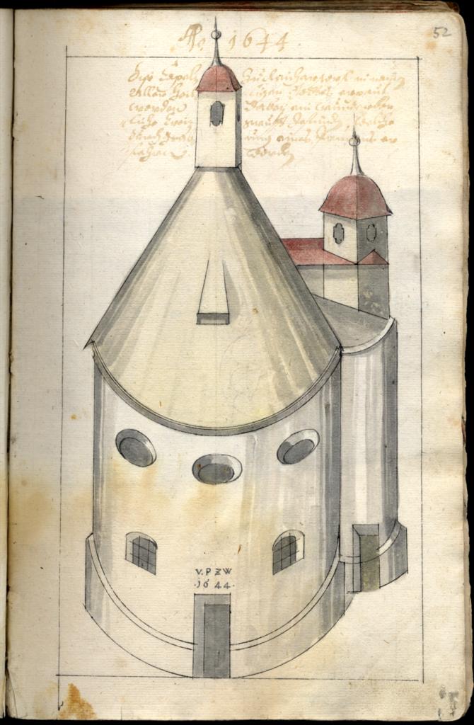 Allerheilgenkapelle Reichersdorf 1644