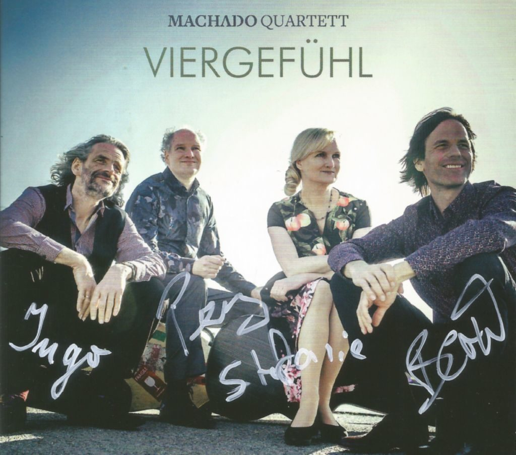 Machado Quartett Cover Viergefühl