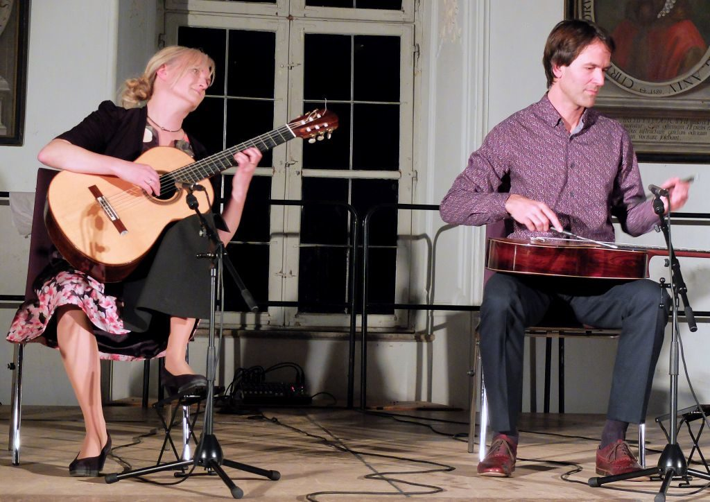 Stefanie Kobras und Bernhard Prüflinger