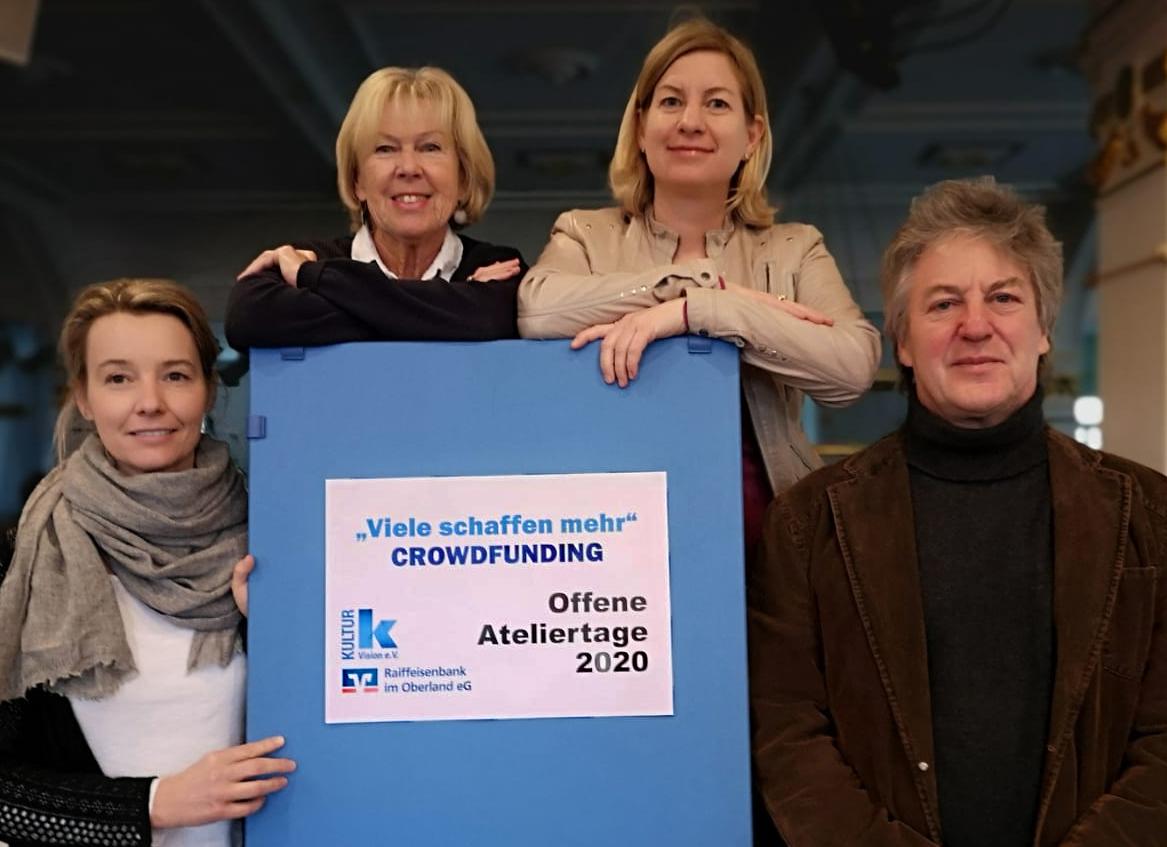 Offene Ateliertage Landkreis Miesbach im Jahr 2020