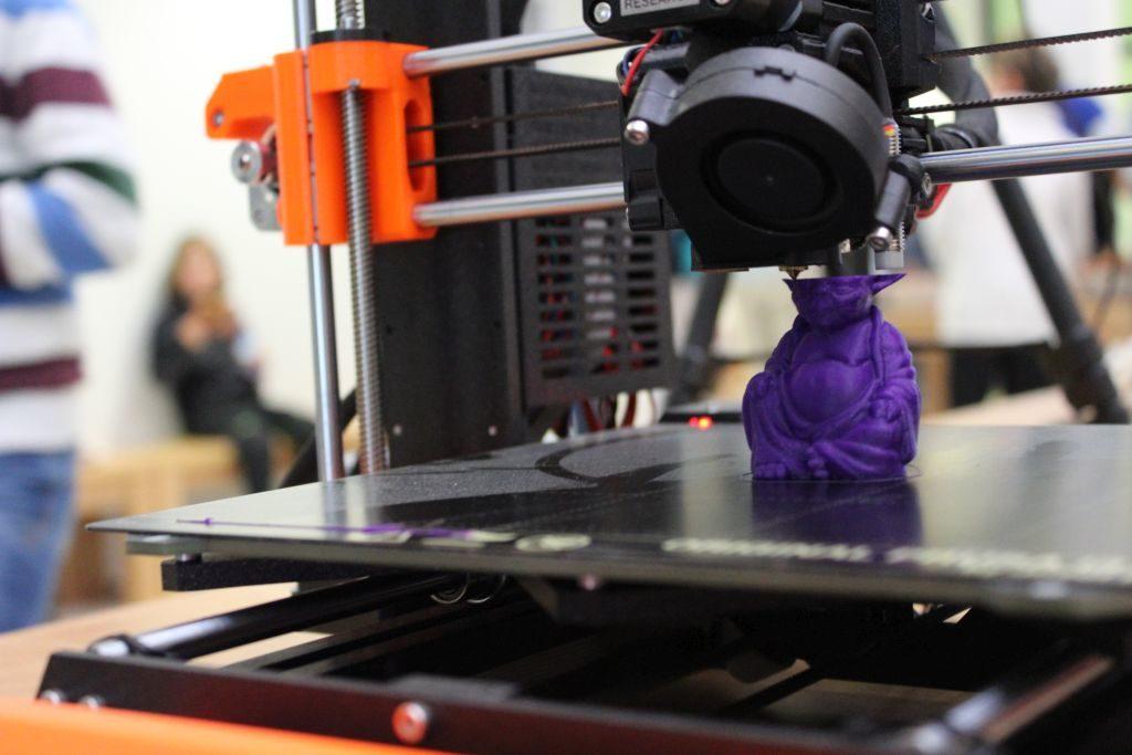 Yedi-Meister Yoda wird aus Maisstärke gedruckt. Foto: Karin Sommer