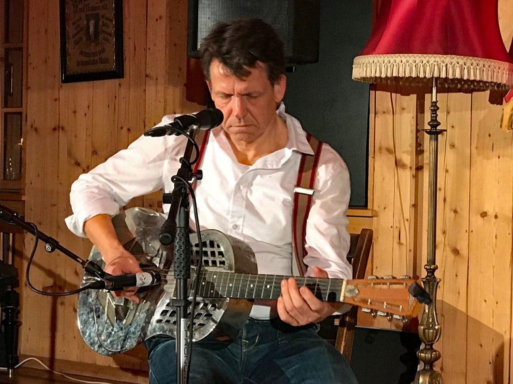 Peter Crow C. - Musiker und Entertainer. Foto: Andreas Vogt