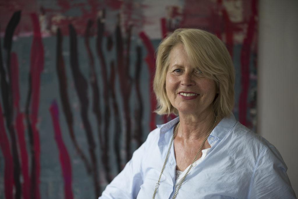 Offene Ateliertage 2020 - Brigitte Siebeneichler zeigt ihr Atelier in Rottach-Egern (c) Walter Glueck