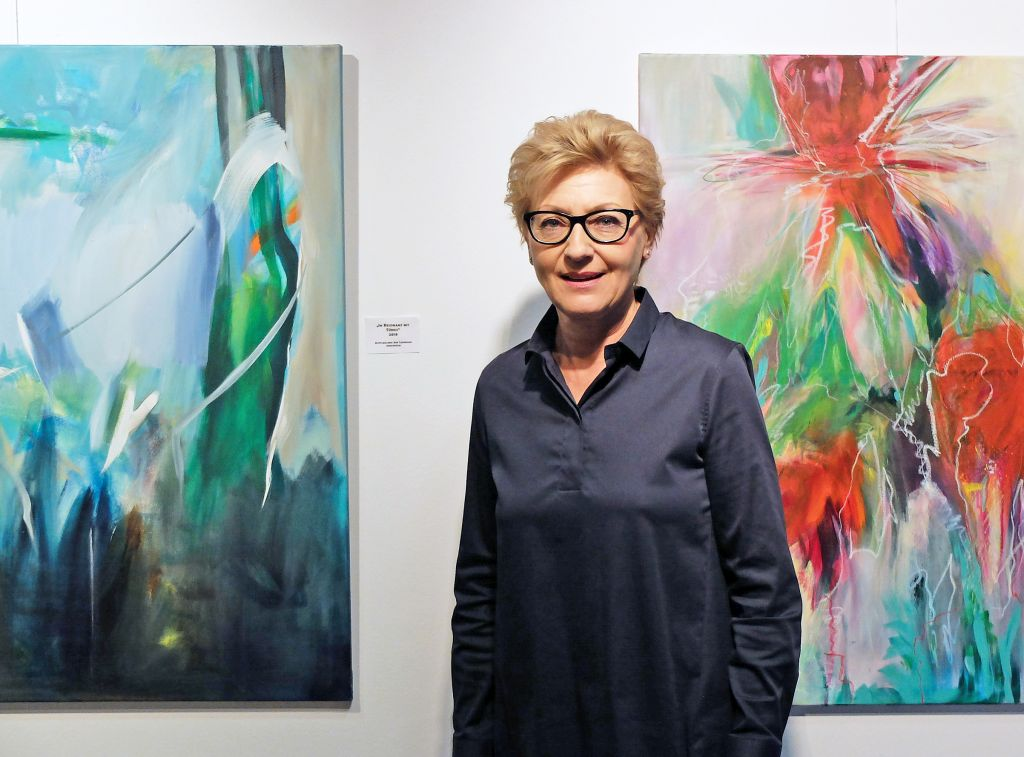 Abstrakt am Tegernsee - Ausstellung der Malerin Gerlinde Belz-Küpper