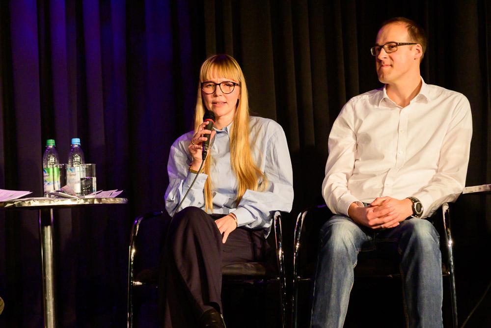 Karin Drexler und Sebastian Oppermann
