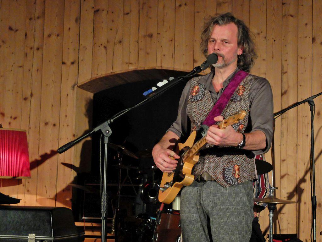 Filmmusiker Gerd Baumann und Parade