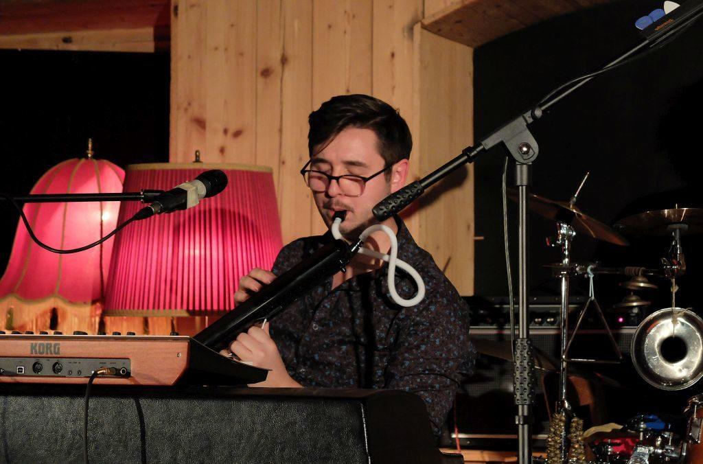 Sam Hylton gehört zu Gerd Baumanns Bandprojekt Parade