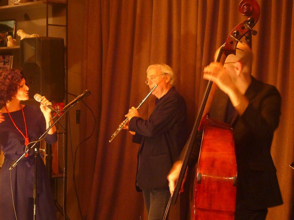 Stefanie Boltz, August Zirner und Sven Faller