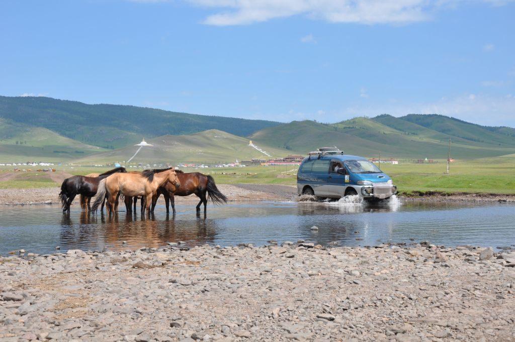 Leo Purmann unterwegs in den mongolischen Norden