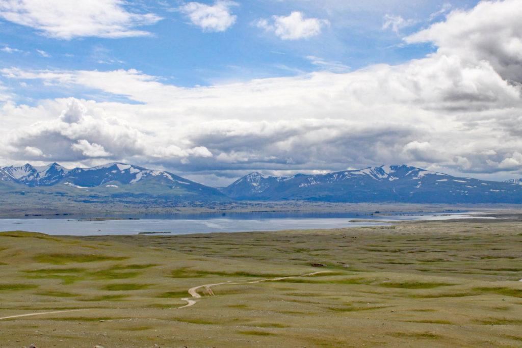 Epische Landschaften in der Mongolei