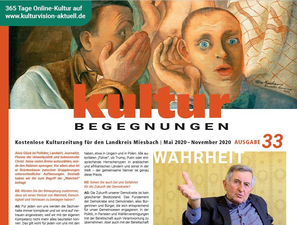 Cover 33. Kulturbegegnungen