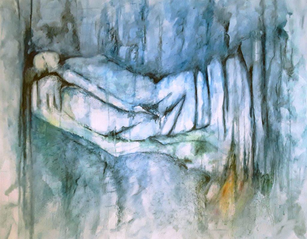 Maler malen einsam