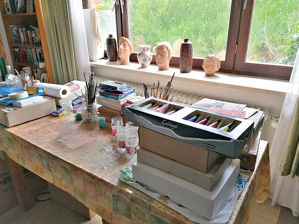 Atelierbesuch bei Helene Fromm