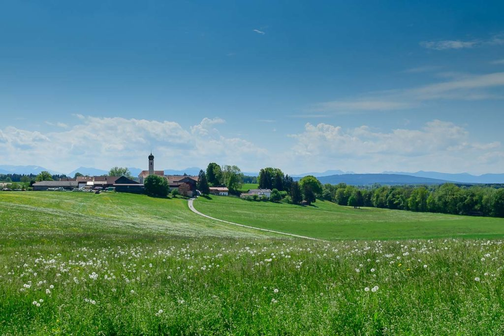 Blick auf Kleinhöhenkirchen