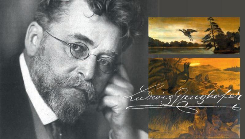 Titelbild des Beitrages in der 33. Ausgabe der KulturBegegnungen - Ludwig Ganghofer 100. Todestag