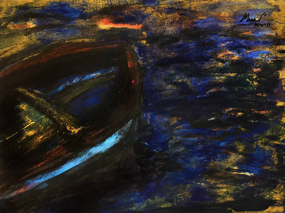 "Stehan Mundi ""Old boat"""