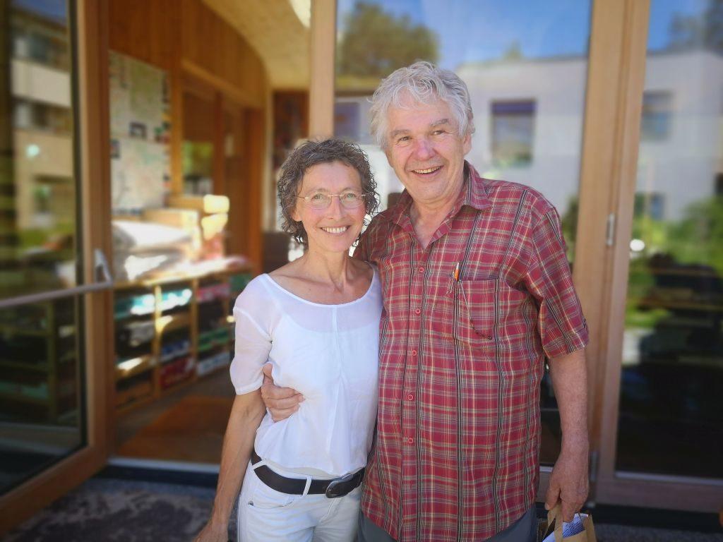 Renate Gönner und Heini Staudinger bei der GEA Akademie im Waldviertel