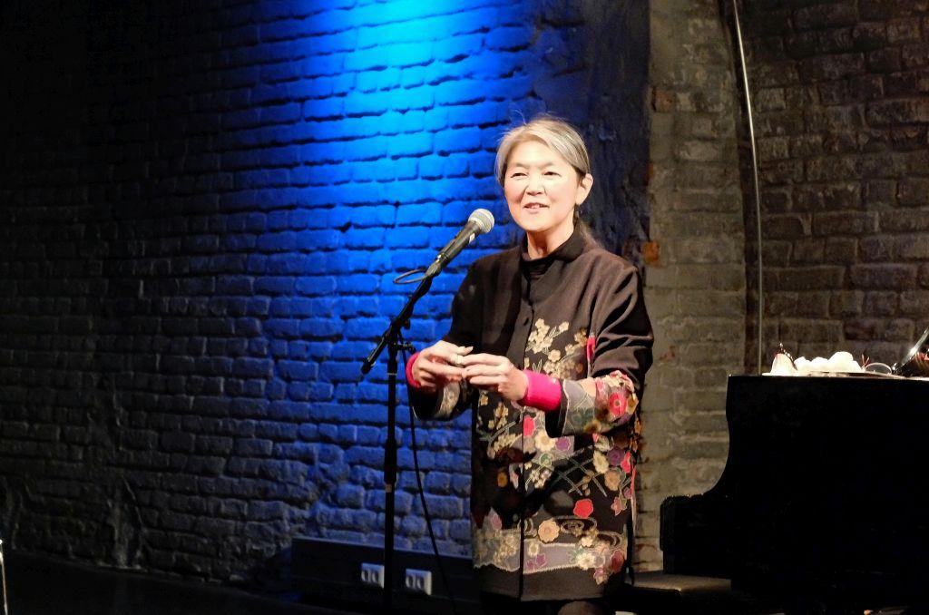 Masako Ohta bei ihrem CD Release-Konzert im Einstein in München