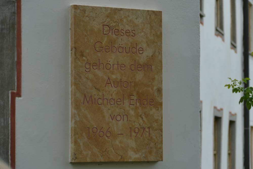 Michael-Ende-Gedenktafel