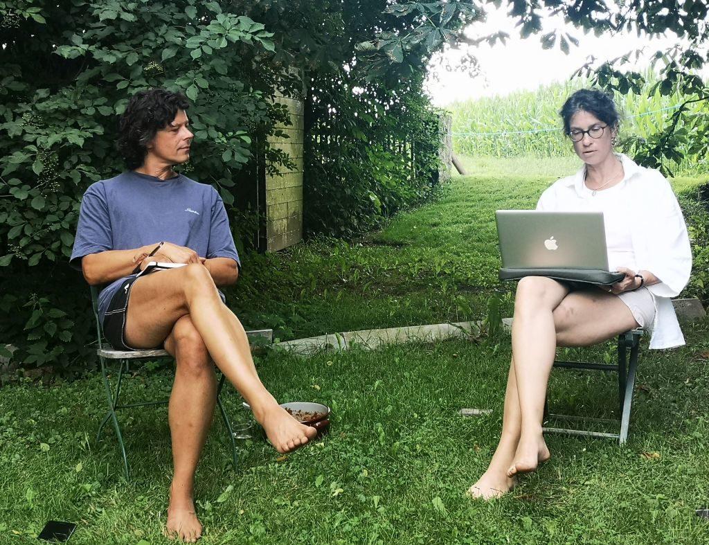 Schreiben lernen beim Erfolgsautor Thomas Sautner im Waldviertel - mit Grudrun Braunsperger