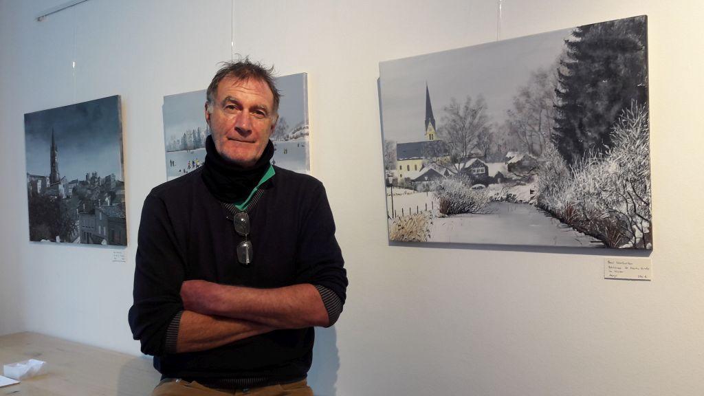 Kunst im Rathaus Paul Warburton