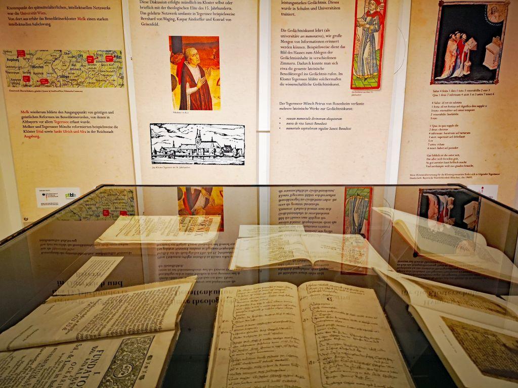 Literatur am Tegernsee - Literaturschätze aus der Tegernseer Klosterbibliothek