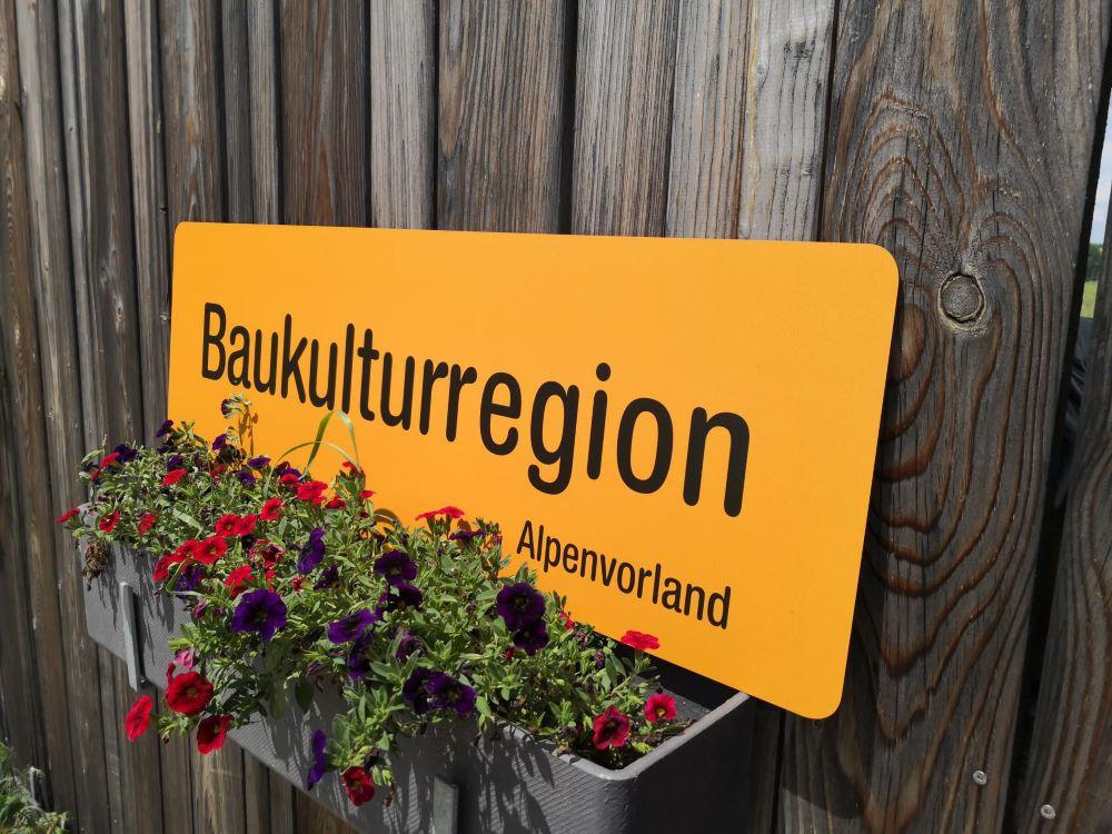 Baukulturregion Alpenvorland