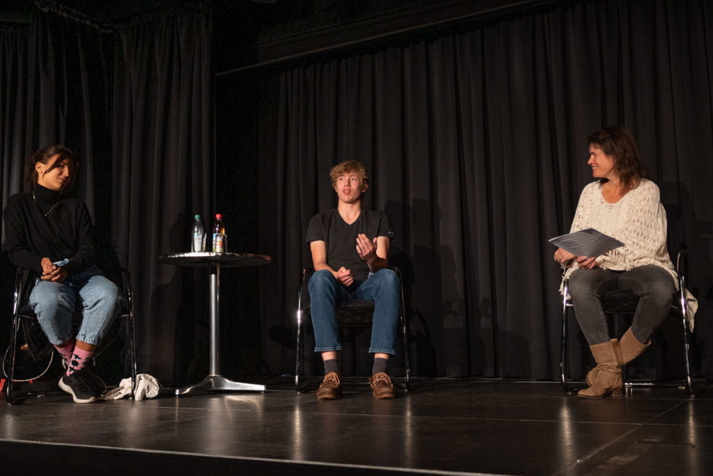 Elisa Pfleger, Hanno Reents und Anja Gild (v.l.)