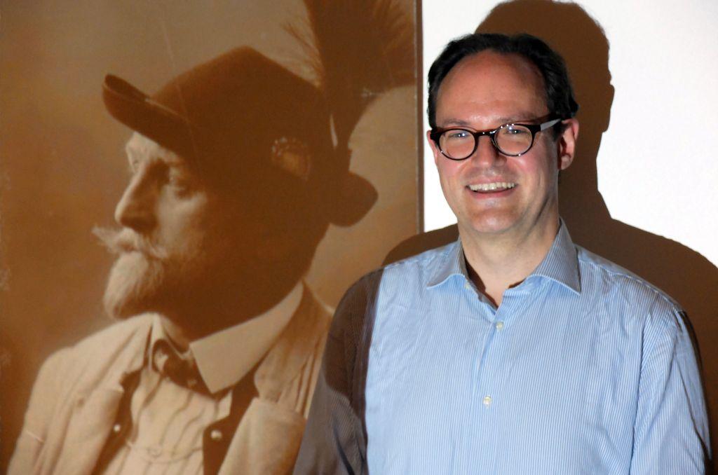 Dr. Peter Czoik hat Feuer gefangen an der schillernden Persönlichkeit des vergessenen Ganghofer-Bruders