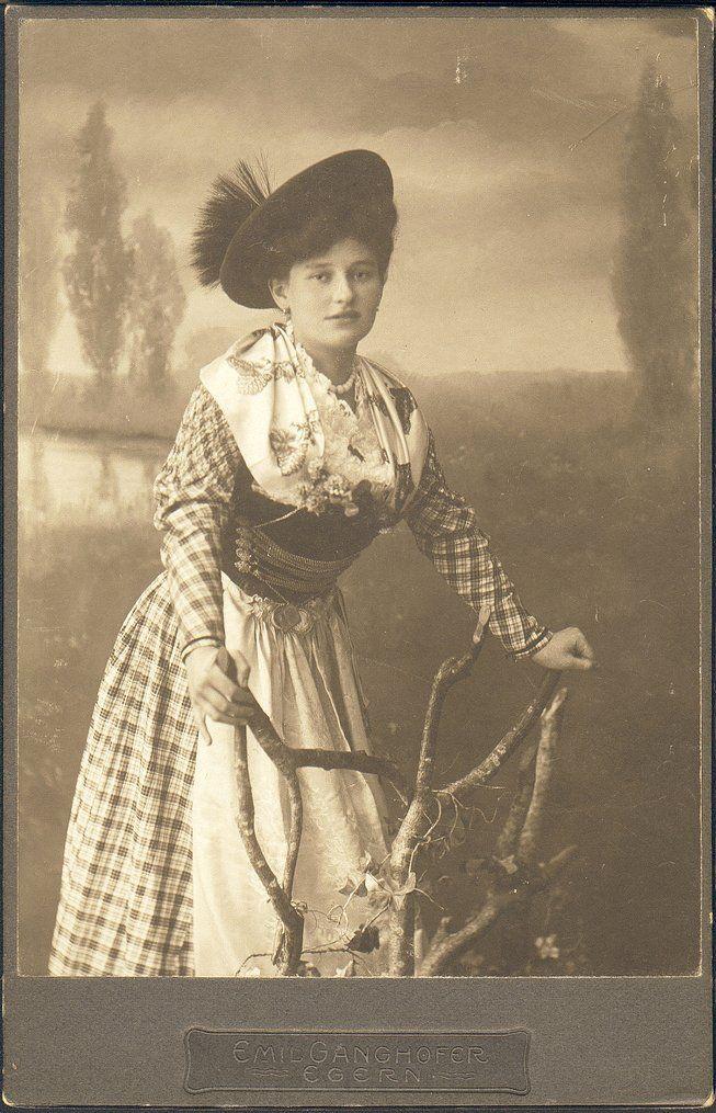 Emil Ganghofer betrieb ein Fotostudio in Egern