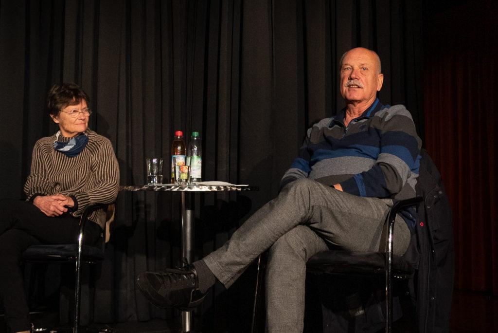 Nele von Mengershausen und Marc Tügel