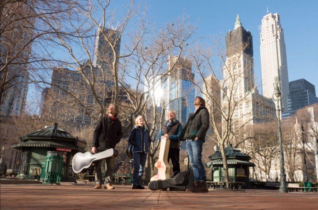 Machado Quartett in NYC - und danach mit frischer Energie an das neue Album und dem Global Music Award entgegen