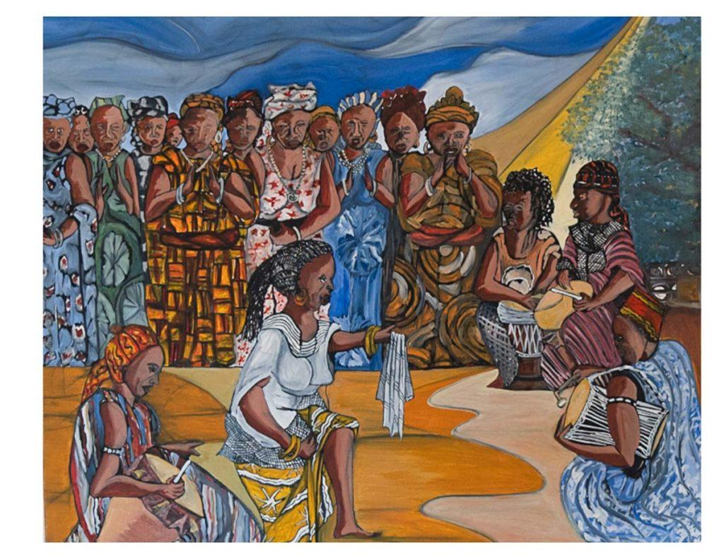 Afrikanische Kunst Ebou