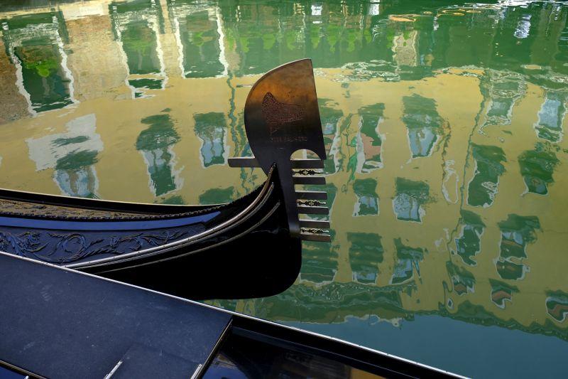 Venedig antipasto Gondel