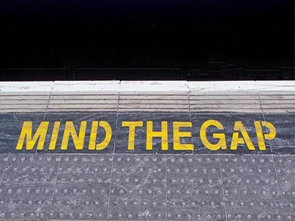"""Gendern auf dem Bahnsteig """"Mind the Gap"""""""