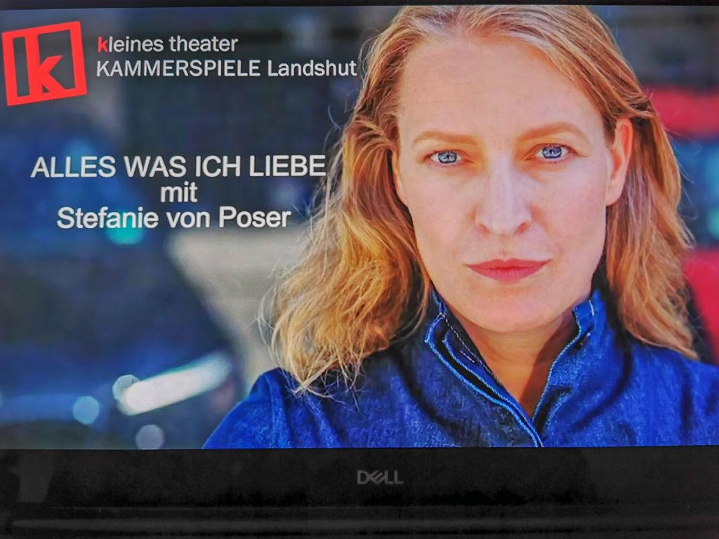 Lesung vom kleinen theater Kammerspiele Landshut
