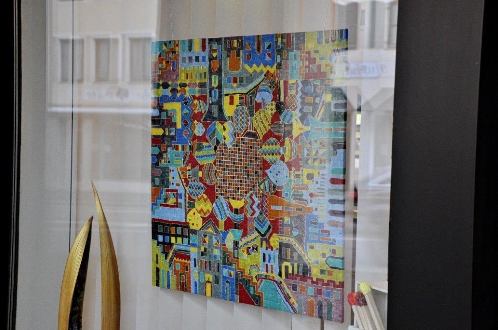 großes Mosaik-Bild