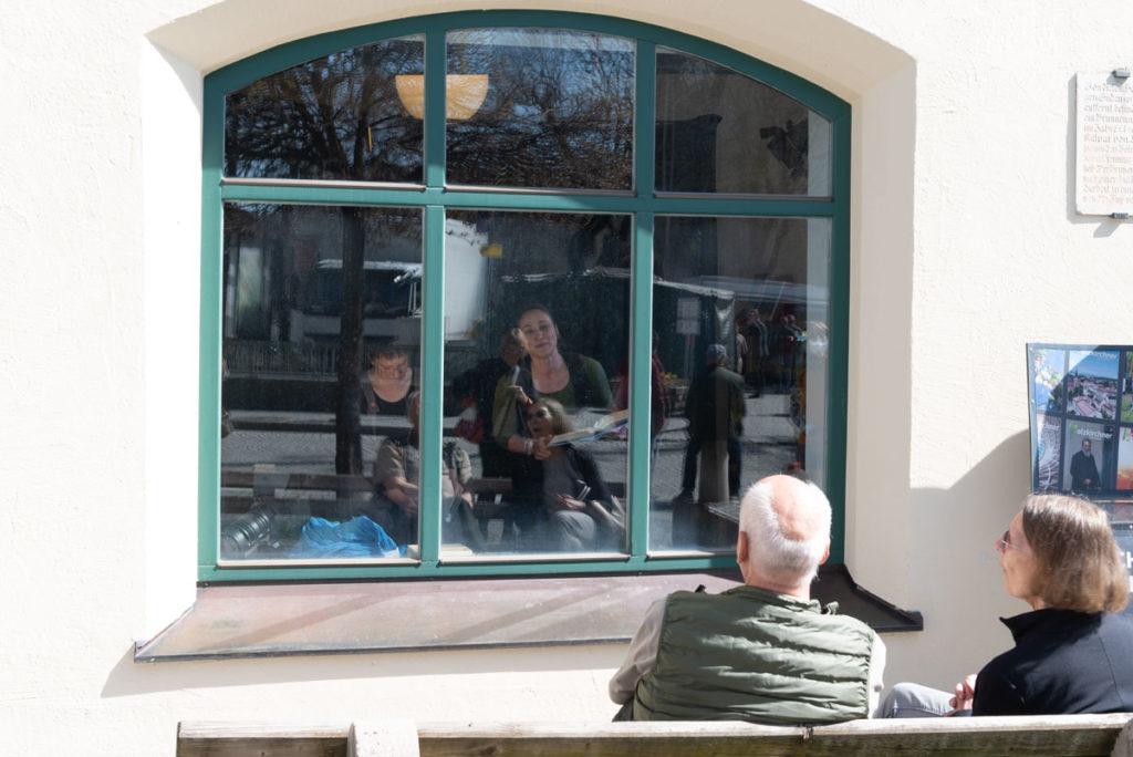 Schaufensterbühne