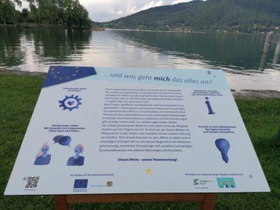 Wanderweg Europas Werte