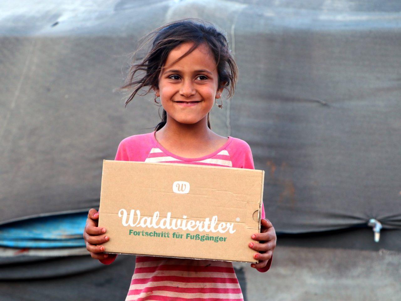 Waldviertler Schuhspende für Flüchtlinge - Karawane der Menschlichkeit